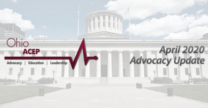 April Advocacy Update